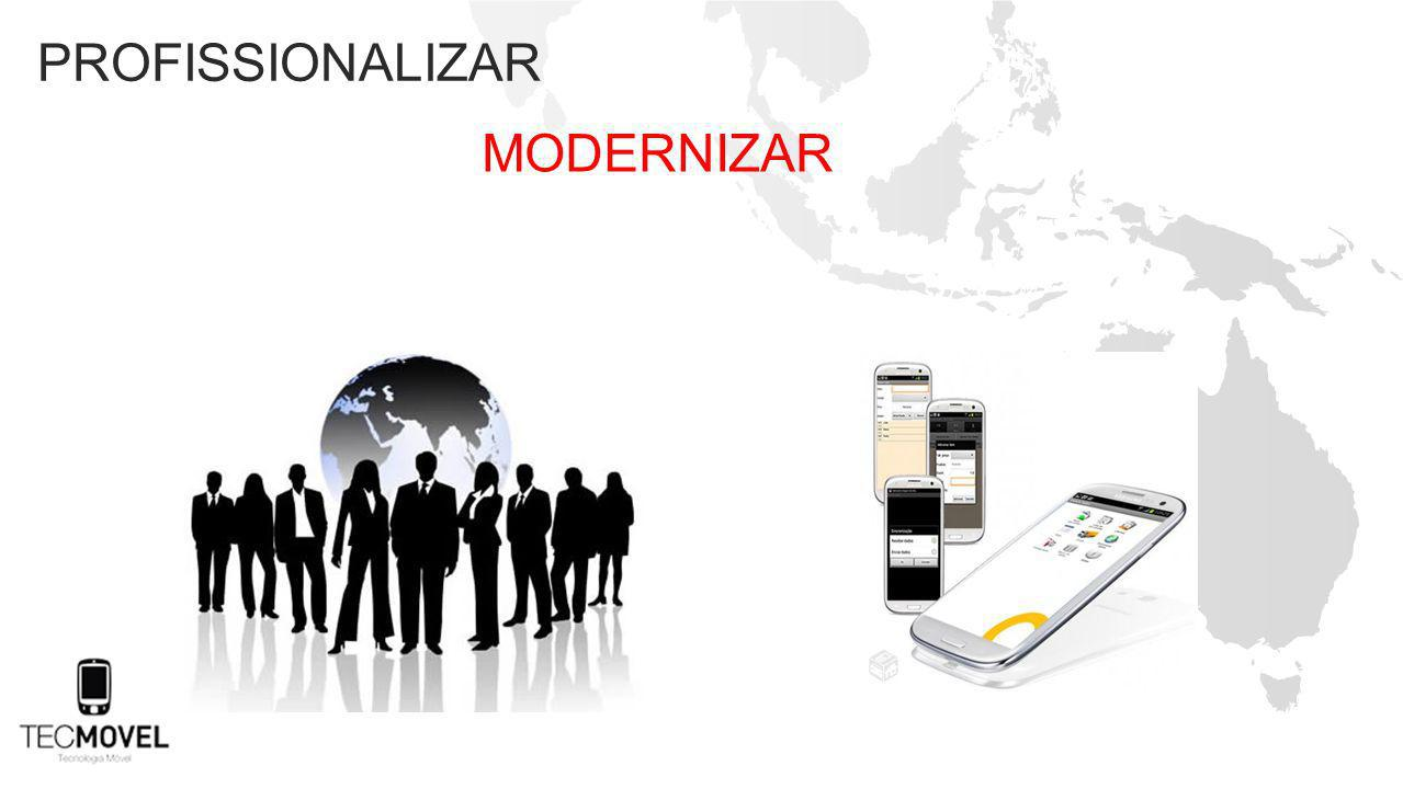 profissionalizar modernizar