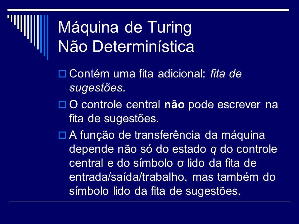 Máquina de Turing Não Determinística