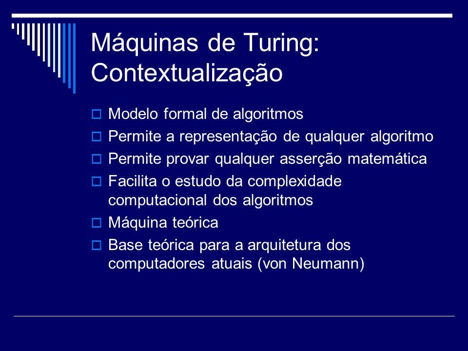 Máquinas de Turing: Contextualização