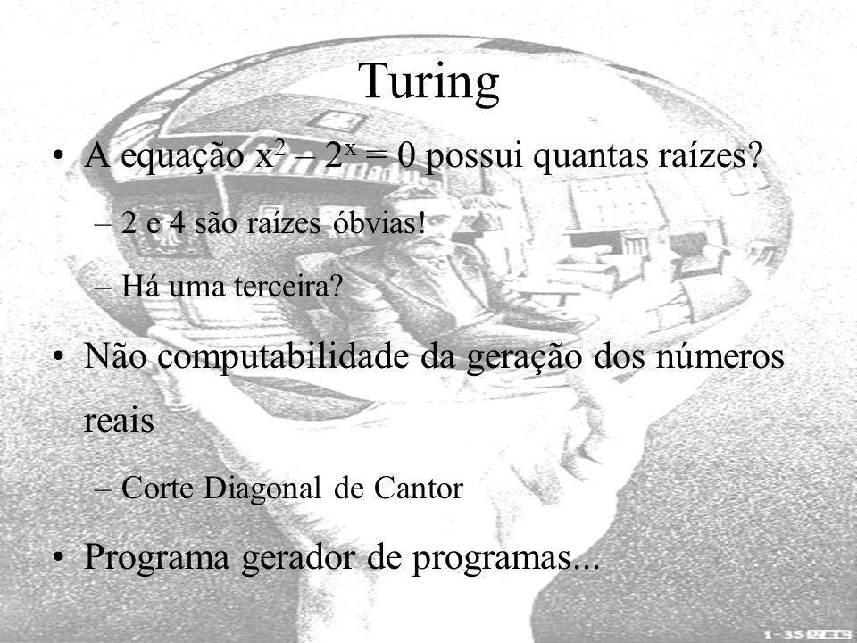 Turing A equação x2 – 2x = 0 possui quantas raízes