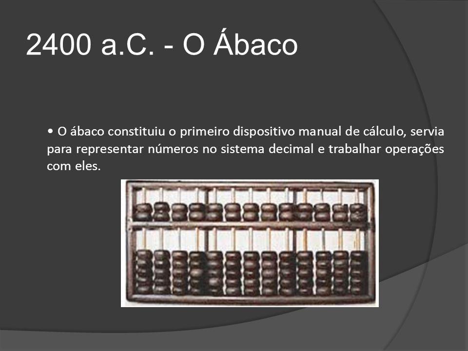 2400 a.C. - O Ábaco