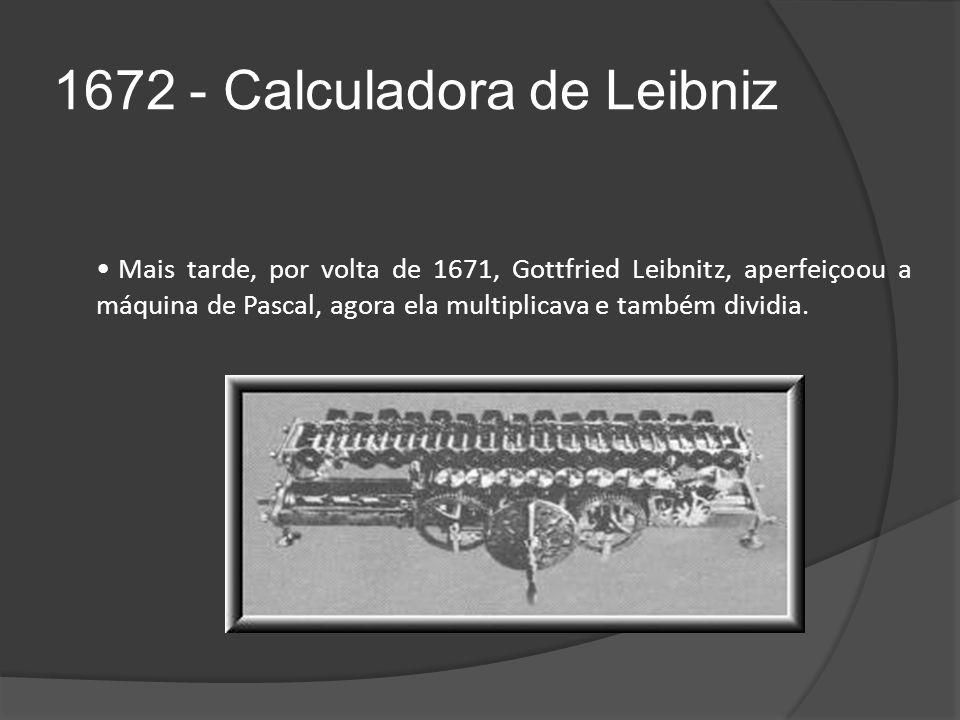 1672 - Calculadora de Leibniz
