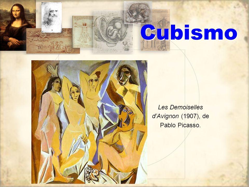Les Demoiselles d'Avignon (1907), de Pablo Picasso.