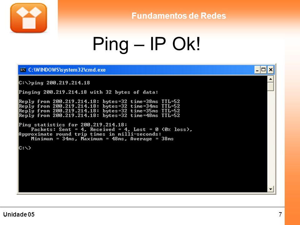 Ping – IP Ok!