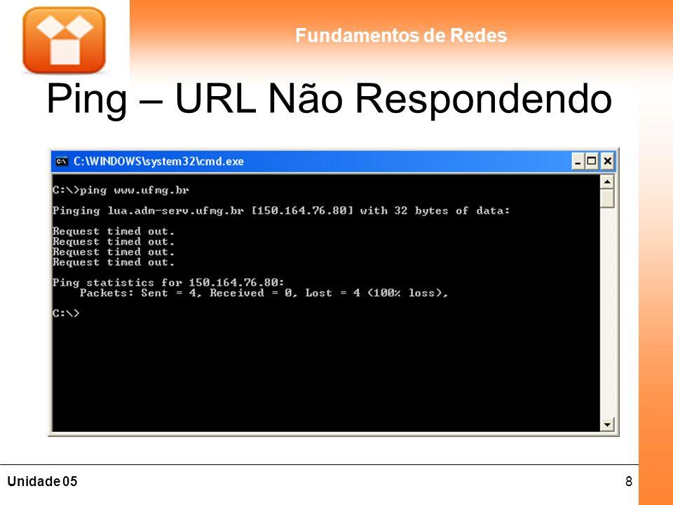 Ping – URL Não Respondendo