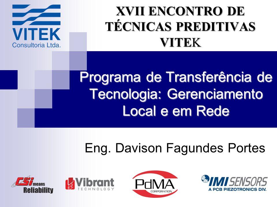 Programa de Transferência de Tecnologia: Gerenciamento Local e em Rede