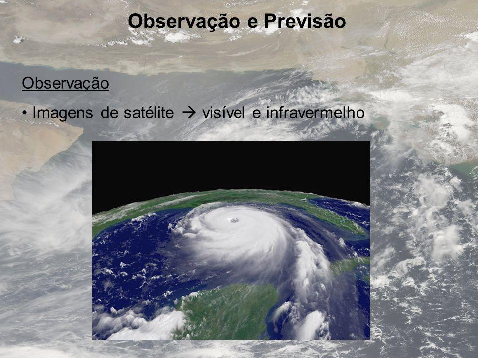 Observação e Previsão Observação