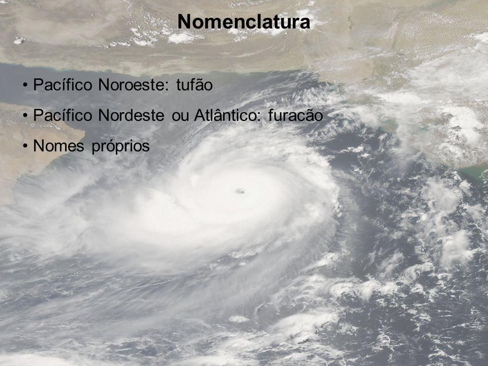 Nomenclatura Pacífico Noroeste: tufão
