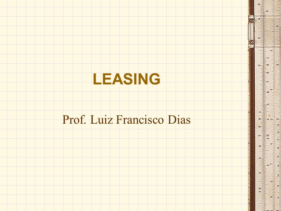 Prof. Luiz Francisco Dias