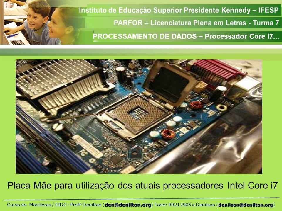 Placa Mãe para utilização dos atuais processadores Intel Core i7