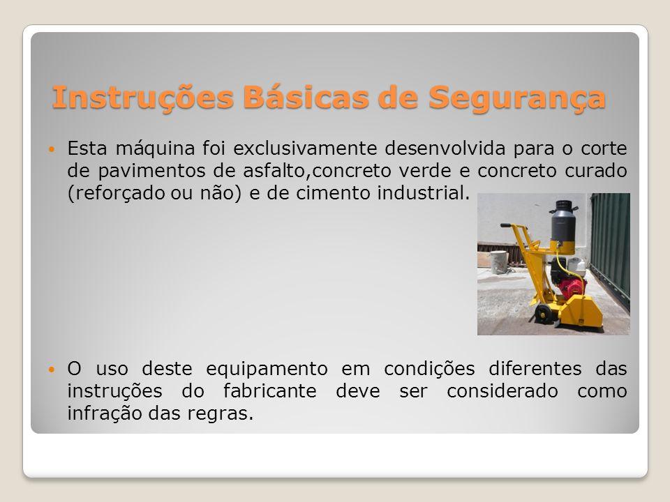 Instruções Básicas de Segurança