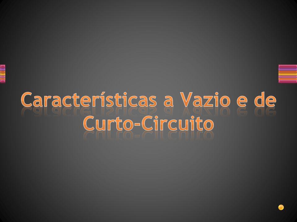 Características a Vazio e de Curto-Circuito