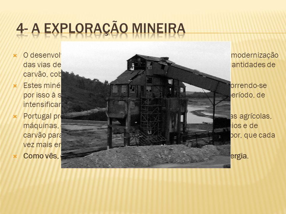 4- A exploração mineira