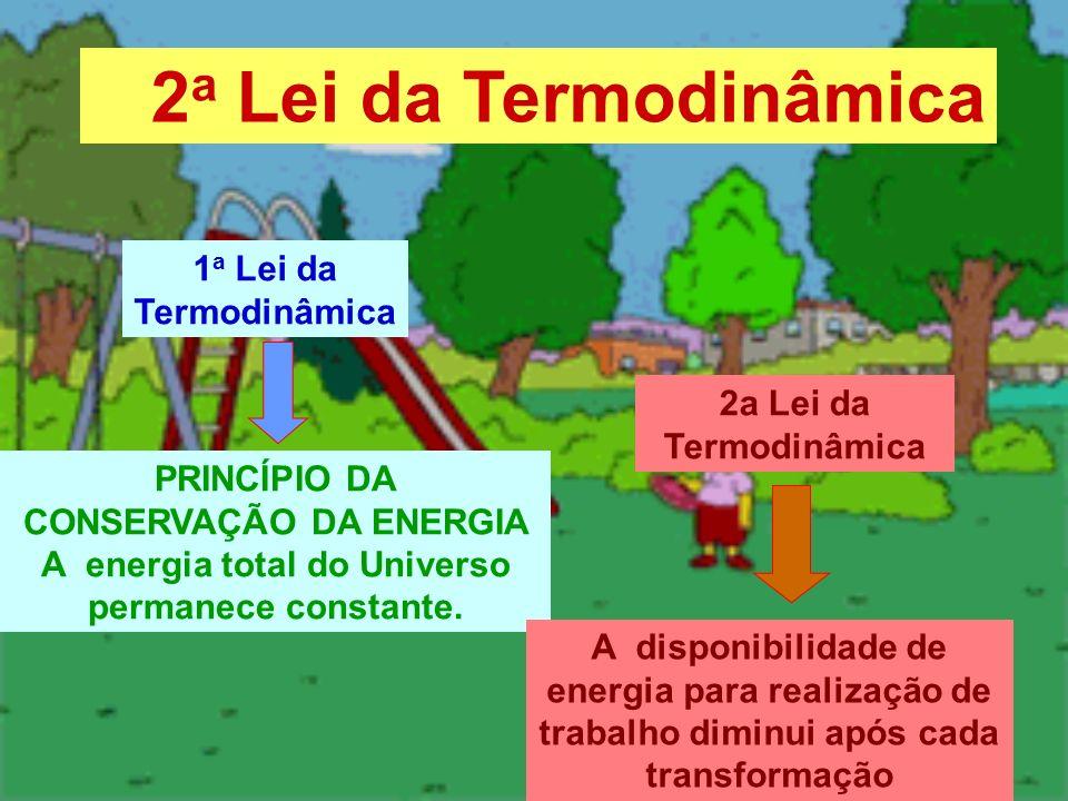 2a Lei da Termodinâmica 1a Lei da Termodinâmica
