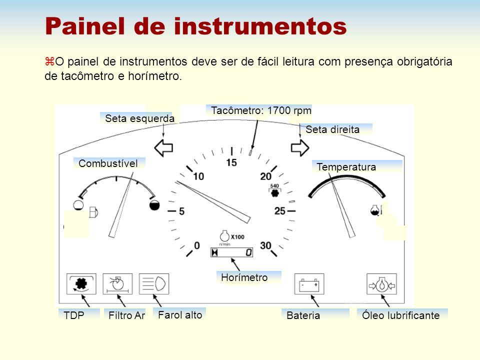 Painel de instrumentos