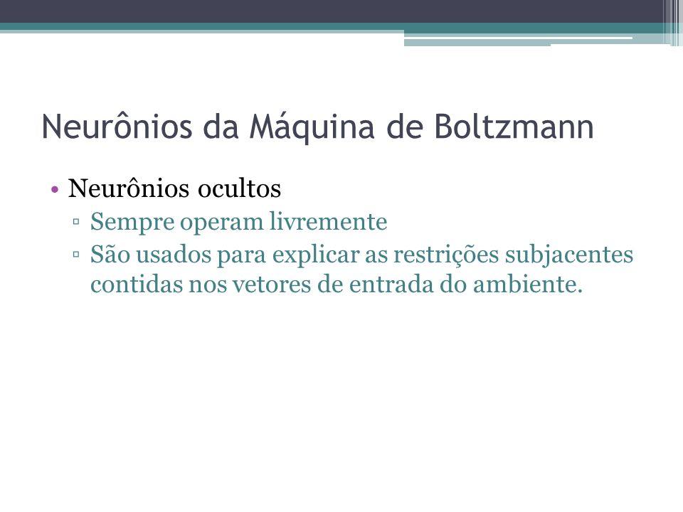 Neurônios da Máquina de Boltzmann