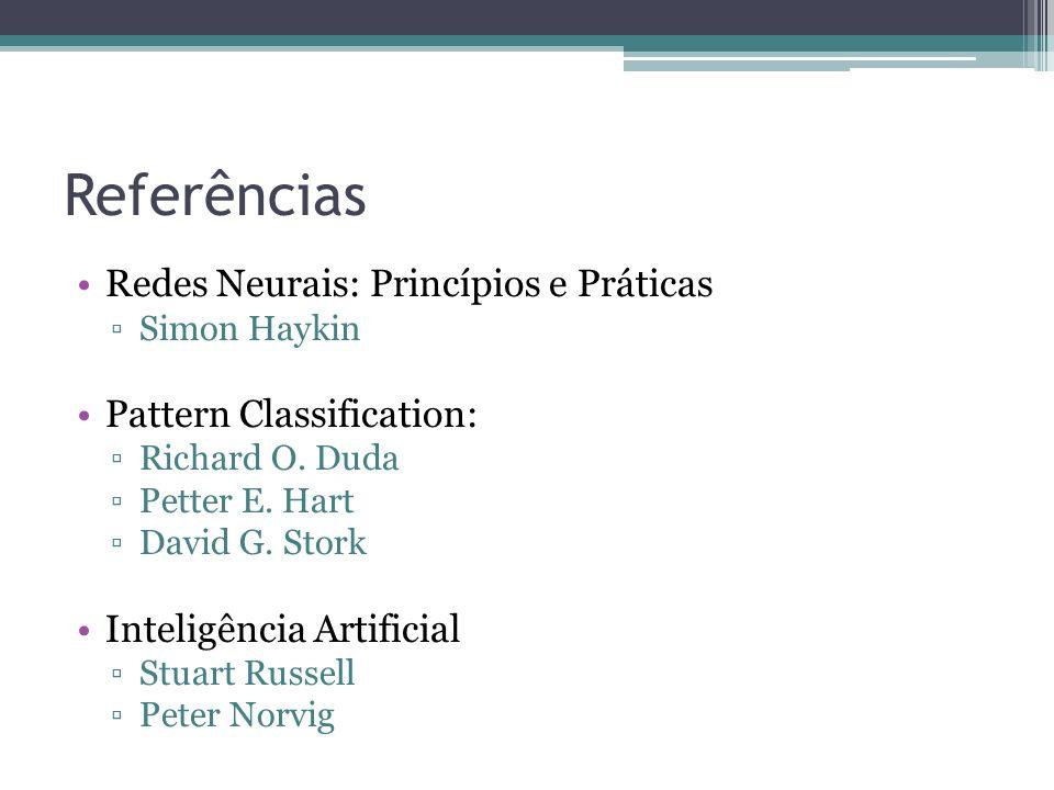 Referências Redes Neurais: Princípios e Práticas