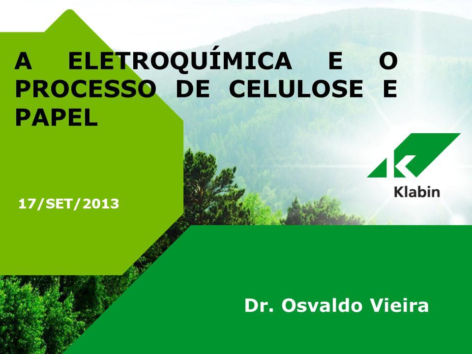 A ELETROQUÍMICA E O PROCESSO DE CELULOSE E PAPEL