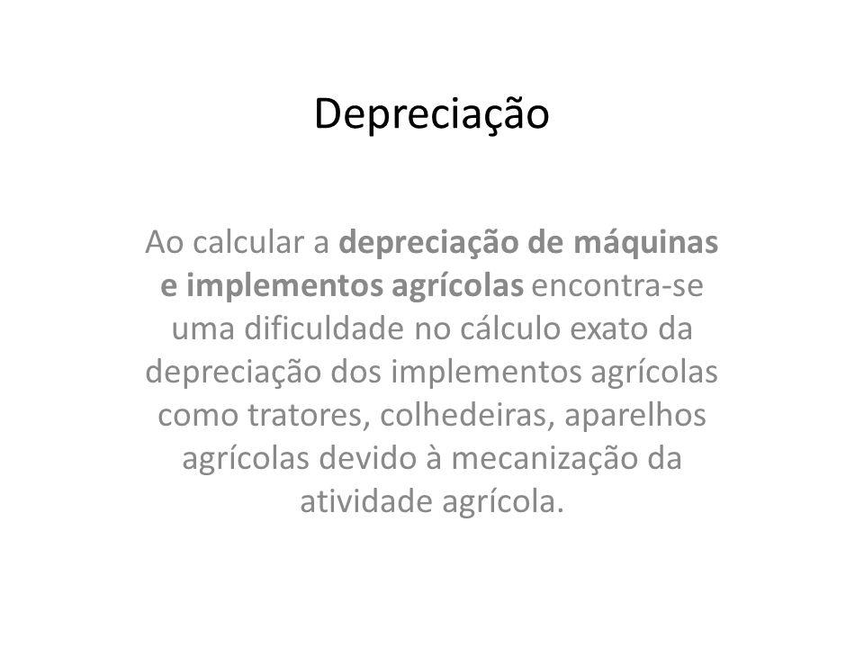Depreciação