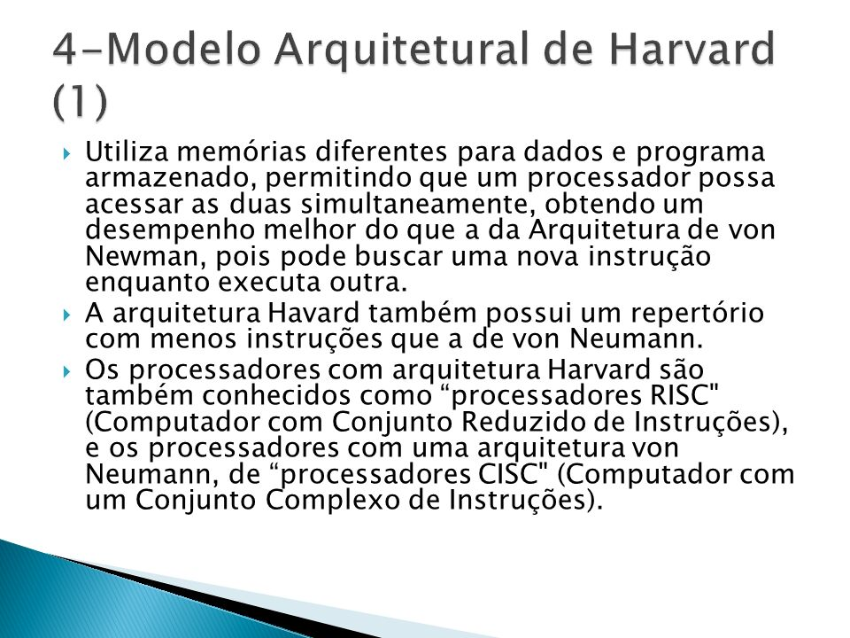4-Modelo Arquitetural de Harvard (1)