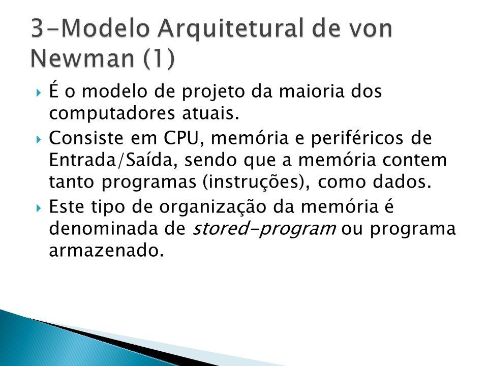 3-Modelo Arquitetural de von Newman (1)
