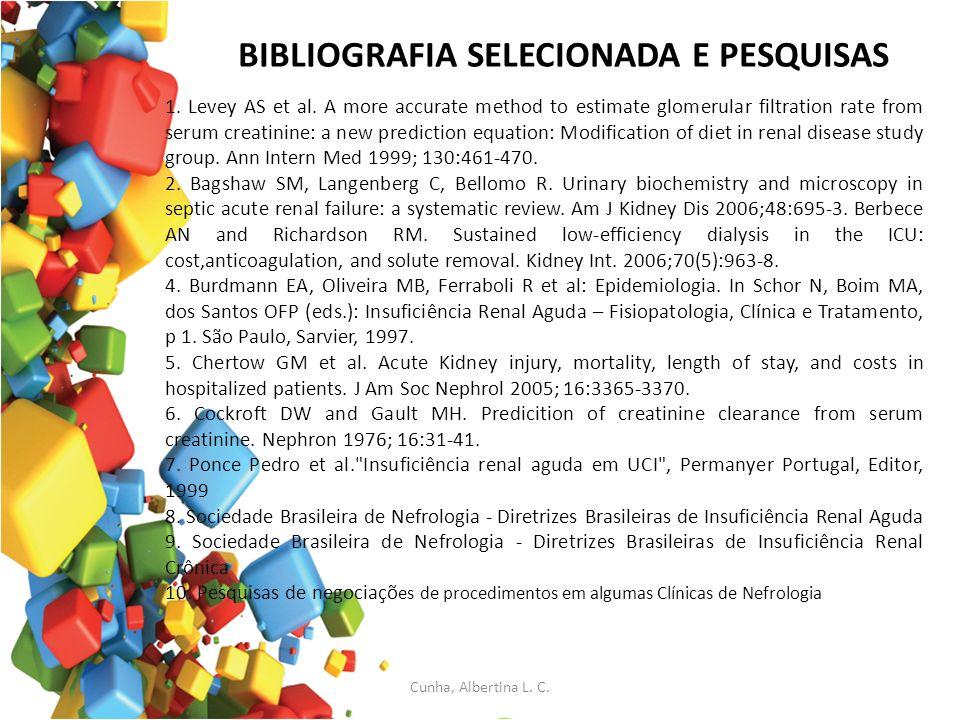 BIBLIOGRAFIA SELECIONADA E PESQUISAS