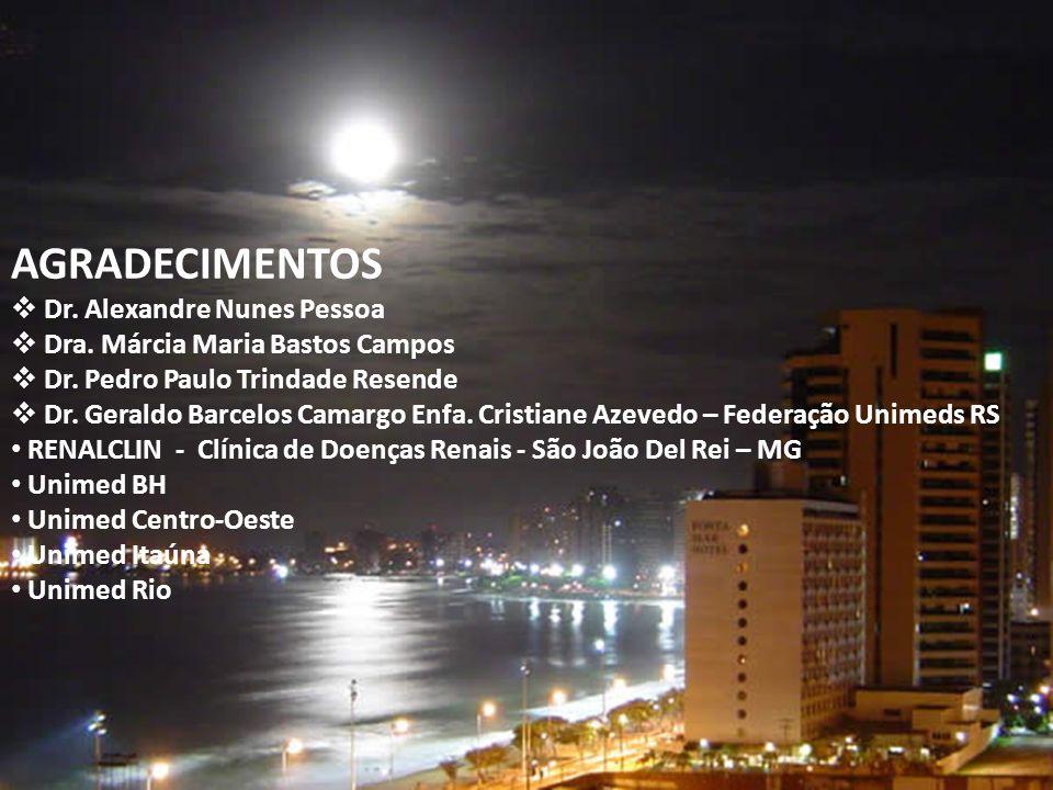 AGRADECIMENTOS Dr. Alexandre Nunes Pessoa