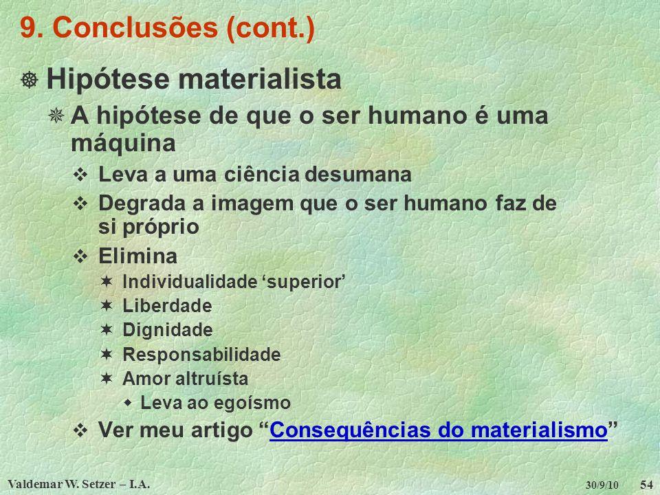 Hipótese materialista