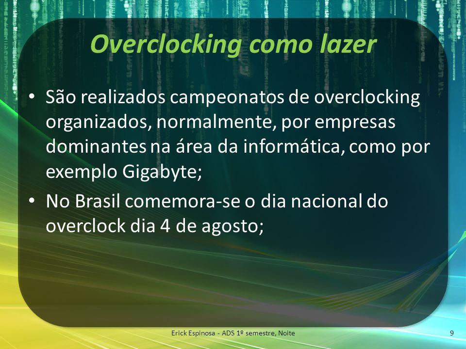 Overclocking como lazer