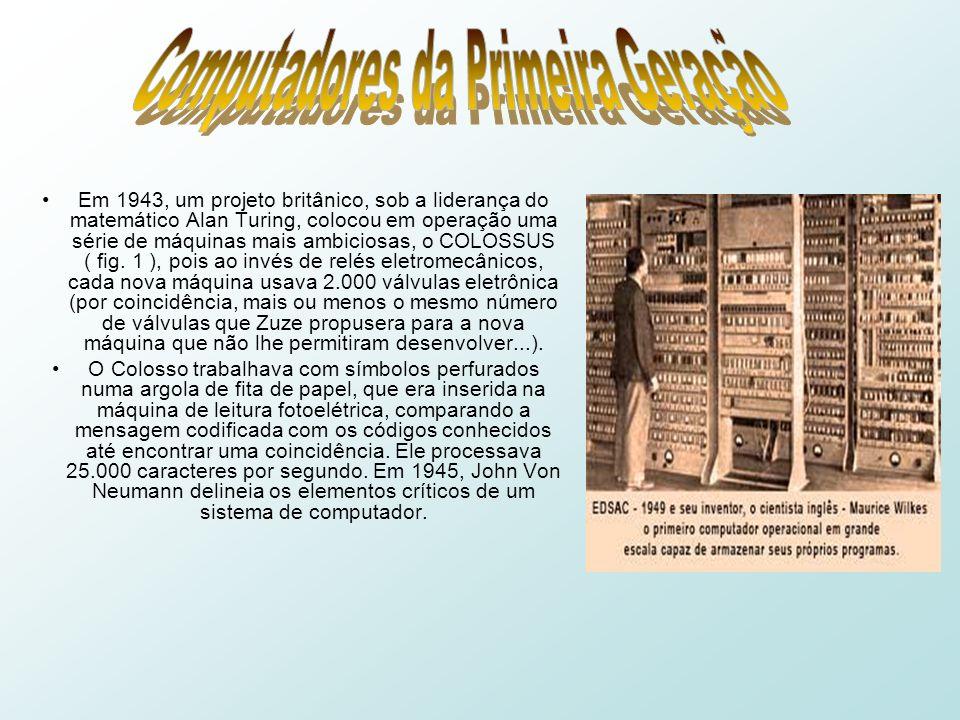 Computadores da Primeira Geração