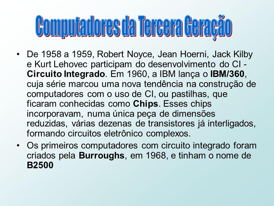 Computadores da Tercera Geração