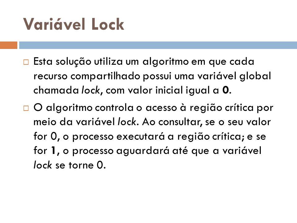 Variável Lock