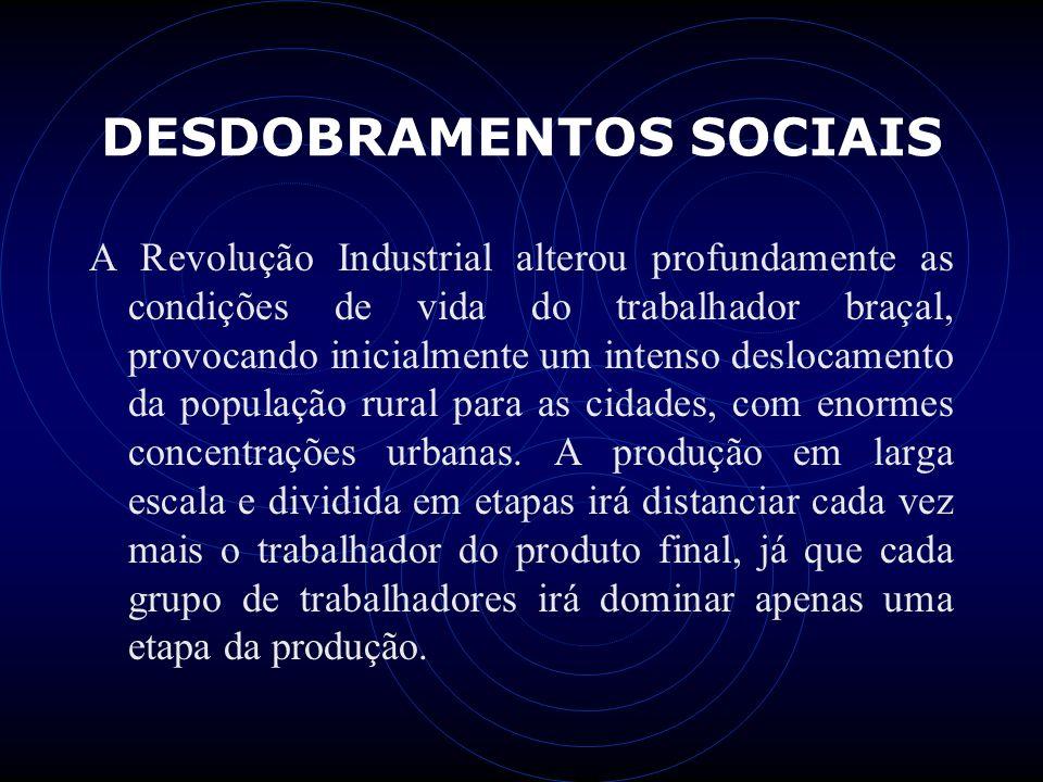 DESDOBRAMENTOS SOCIAIS