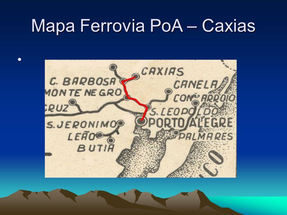 Mapa Ferrovia PoA – Caxias