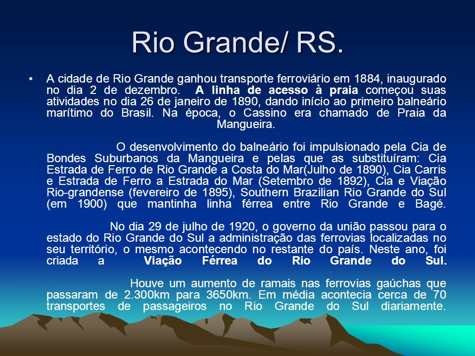Rio Grande/ RS.