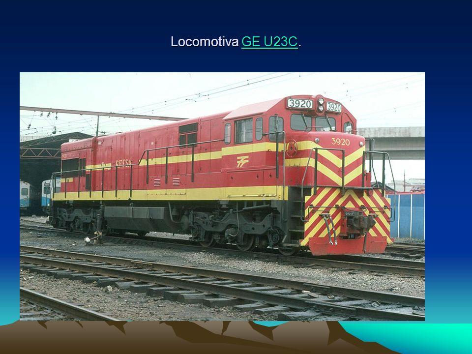 Locomotiva GE U23C.