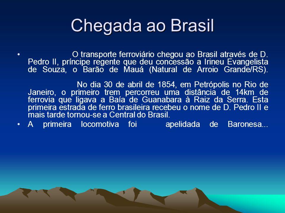 Chegada ao Brasil