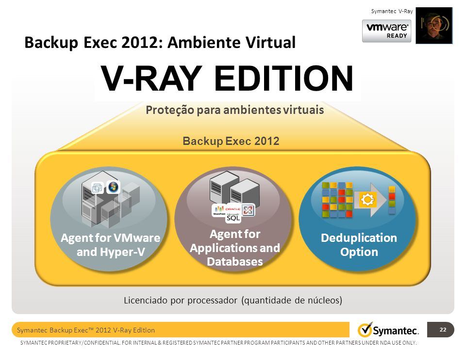 Backup Exec 2012: Ambiente Virtual
