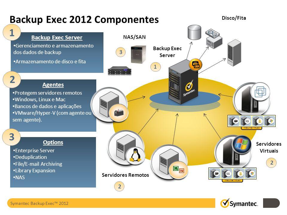 Backup Exec 2012 Componentes