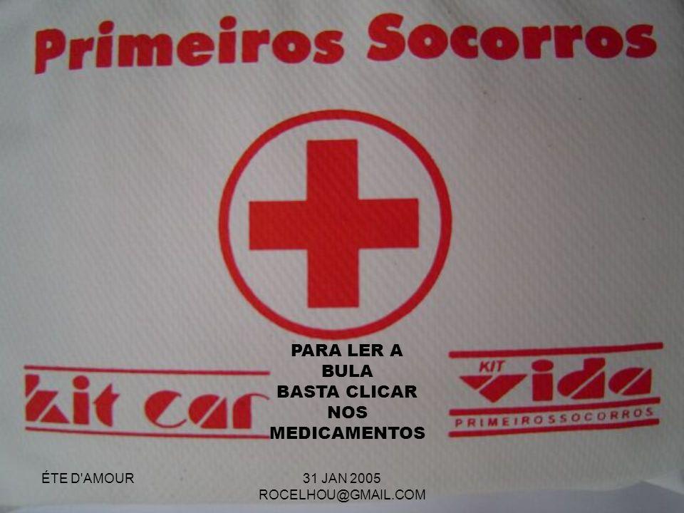 PARA LER A BULA BASTA CLICAR NOS MEDICAMENTOS