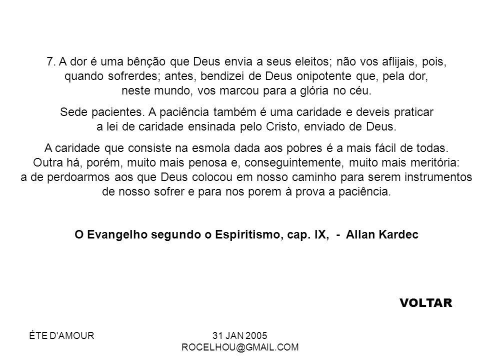 O Evangelho segundo o Espiritismo, cap. IX, - Allan Kardec