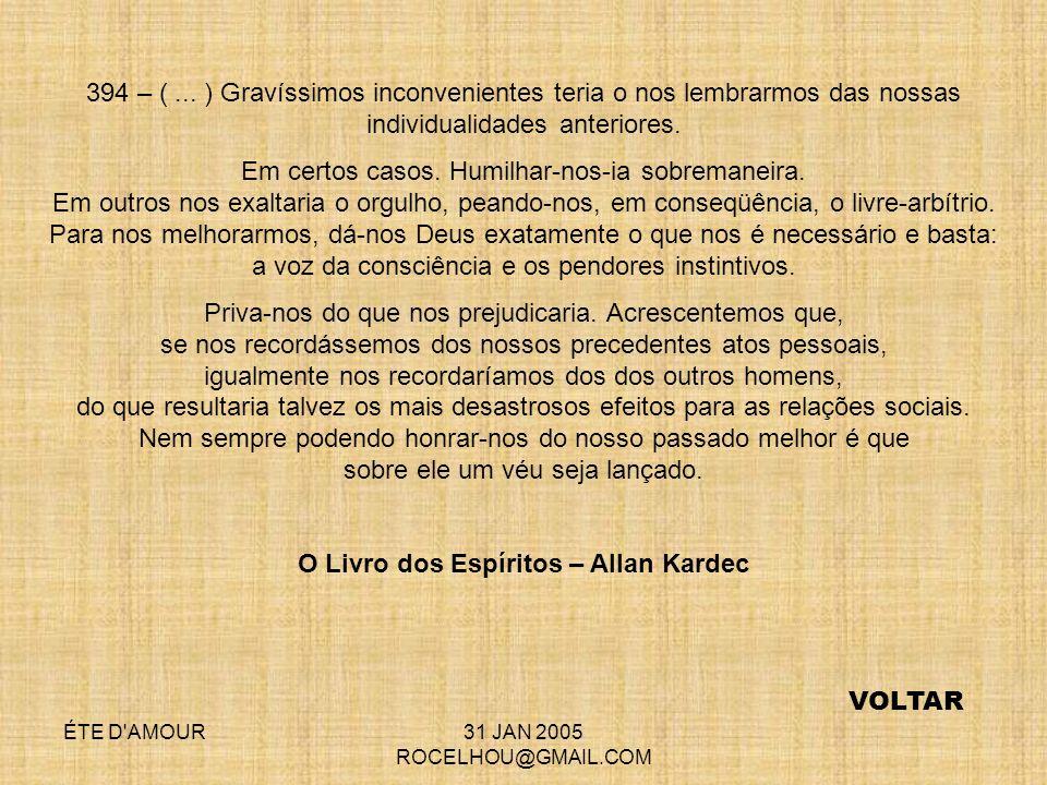 O Livro dos Espíritos – Allan Kardec