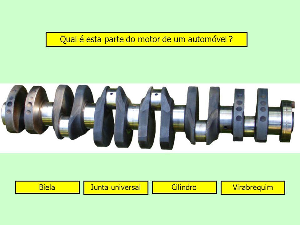 Qual é esta parte do motor de um automóvel