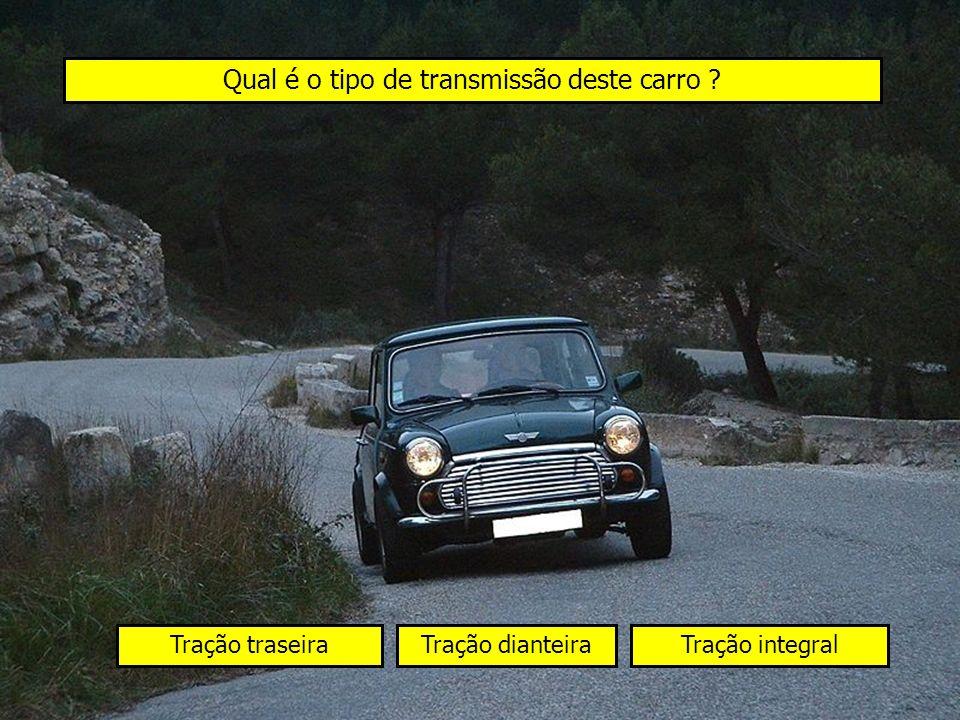 Qual é o tipo de transmissão deste carro