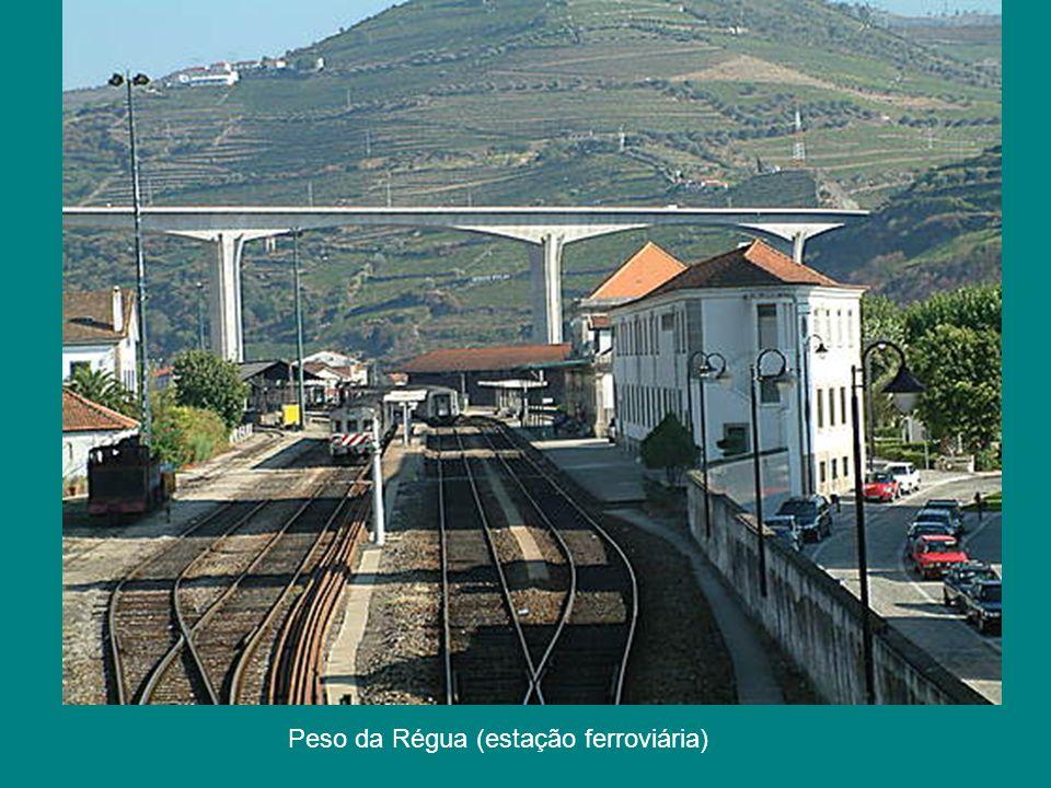 Peso da Régua (estação ferroviária)