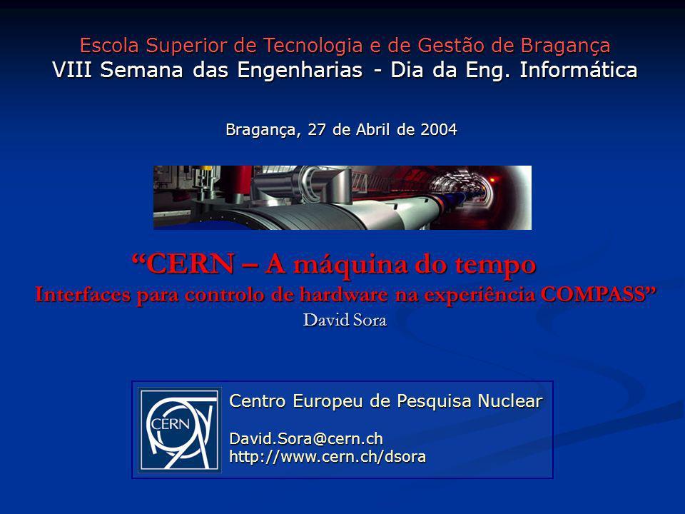CERN – A máquina do tempo