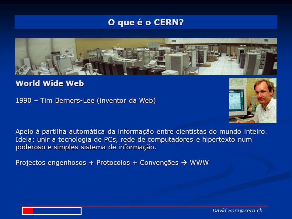 O que é o CERN