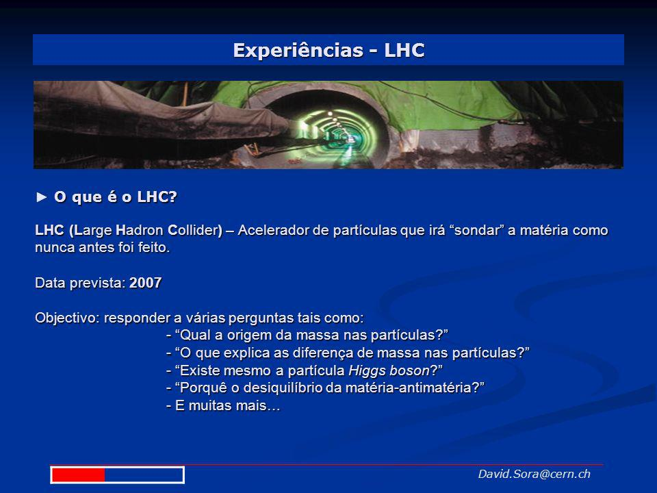 Experiências - LHC