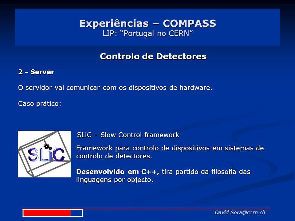 Experiências – COMPASS LIP: Portugal no CERN