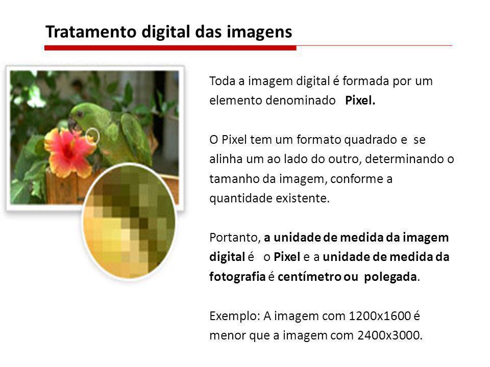 Tratamento digital das imagens